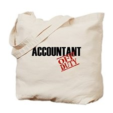 Off Duty Accountant Tote Bag