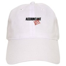 Off Duty Accountant Baseball Cap