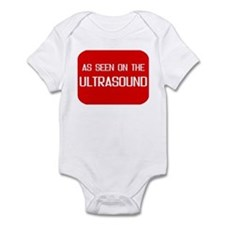 As seen on the ultrasound - Infant Bodysuit