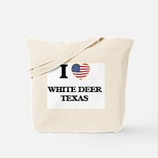 I love White Deer Texas Tote Bag