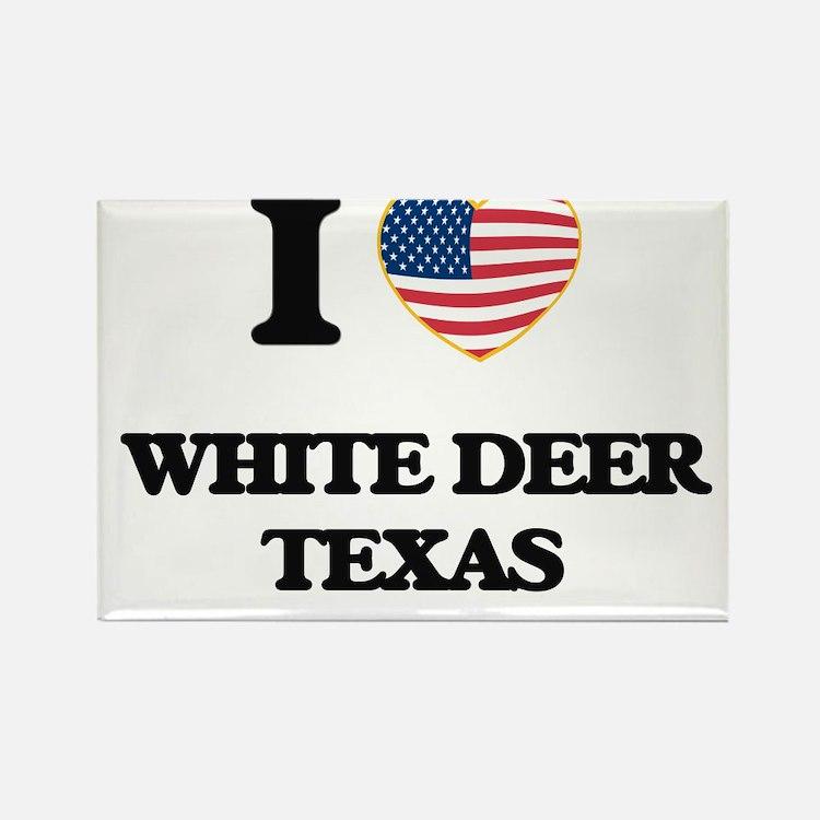 I love White Deer Texas Magnets