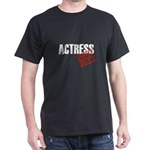 Off Duty Actress Dark T-Shirt