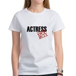 Off Duty Actress Women's T-Shirt