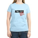 Off Duty Actress Women's Light T-Shirt