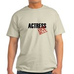 Off Duty Actress Light T-Shirt