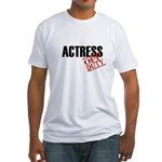 Off Duty Actress Fitted T-Shirt