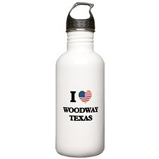 I love Woodway Texas Water Bottle