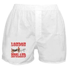 London, England Boxer Shorts