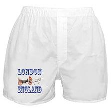 London, England Boxer Shorts
