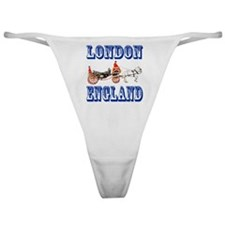 London, England Classic Thong