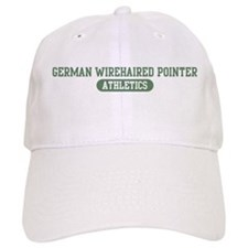 German Wirehaired Pointer ath Baseball Cap