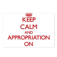 Keep Calm and Appropriati Postcards (Package of 8)