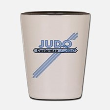 Judo Dad Shot Glass