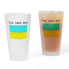 Ukraine Flag (Distressed) Drinking Glass