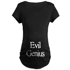 Newsprint Evil Genius T-Shirt