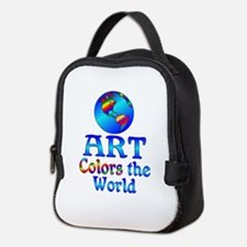 Art Colors the World Neoprene Lunch Bag