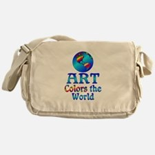 Art Colors the World Messenger Bag