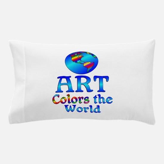 Art Colors the World Pillow Case