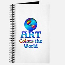 Art Colors the World Journal