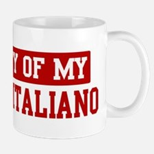 Property of Spinone Italiano Mug