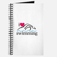 I Love Swimming/Swimmer Journal