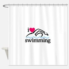 Swimmer shower curtains swimmer fabric shower curtain liner Swimming pool shower curtain