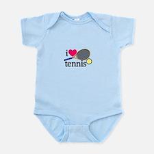 I Love Tennis/Racquet Body Suit