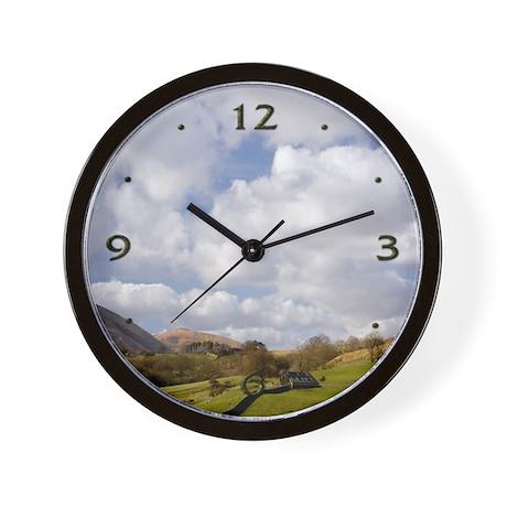 Yorkshire Dales Hills & Sky Wall Clock
