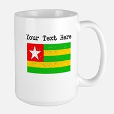 Togo Flag (Distressed) Mugs