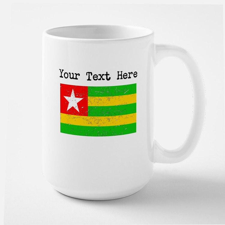 Togo Flag (Distressed) Mugs