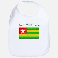 Togo Flag (Distressed) Bib