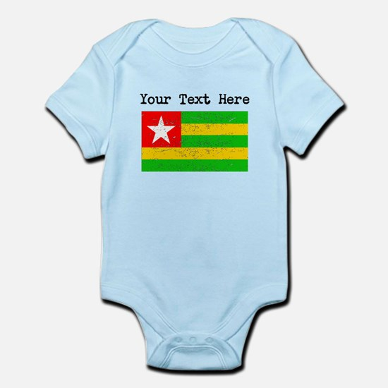 Togo Flag (Distressed) Body Suit