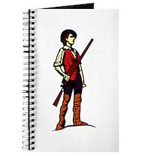 Minutemen with Gun Journal