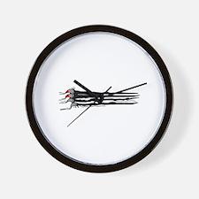Scratch Claws Wall Clock