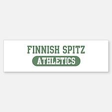 Finnish Spitz athletics Bumper Bumper Bumper Sticker