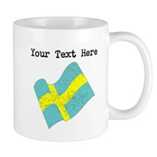 Sweden Flag (Distressed) Mugs