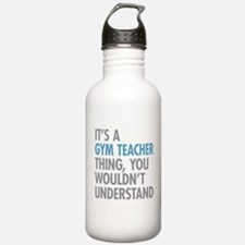 Gym Teacher Thing Water Bottle