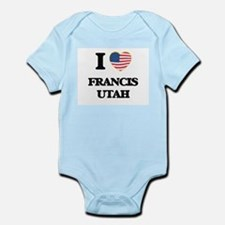 I love Francis Utah Body Suit