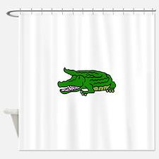 Gator Shower Curtain