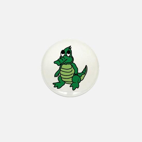 Baby Gator Mini Button