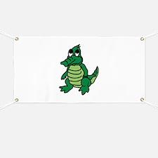Baby Gator Banner