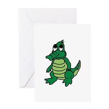 Baby Gator Greeting Cards