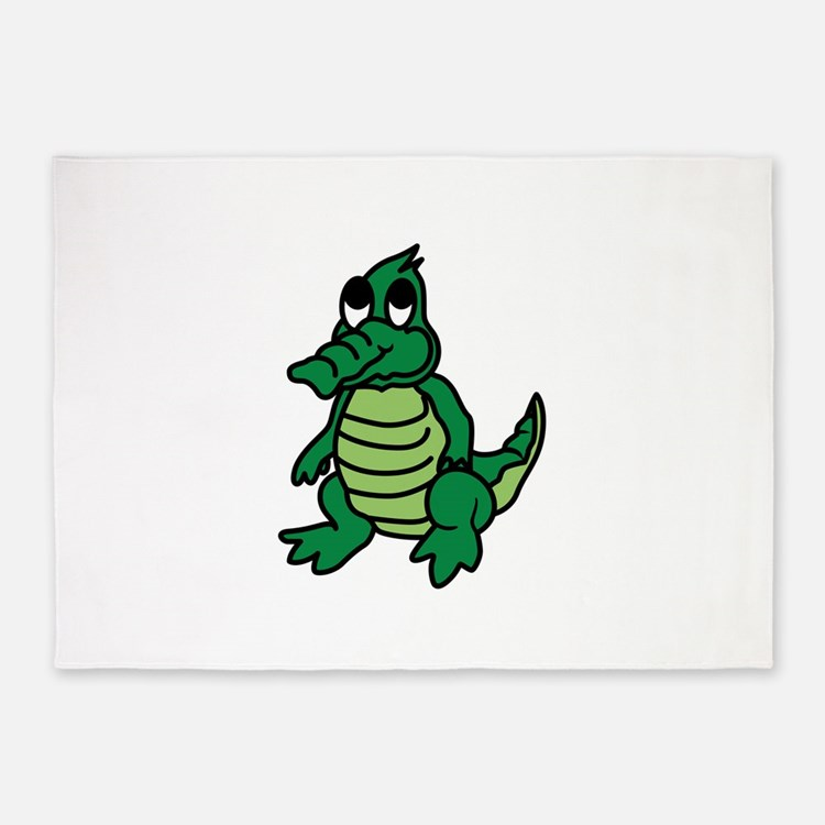 Baby Gator 5'x7'Area Rug
