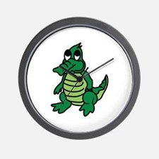 Baby Gator Wall Clock