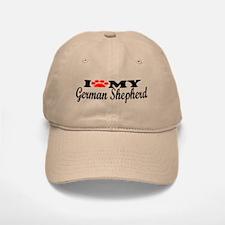 German Shepherd - I Love My Baseball Baseball Cap