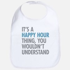 Happy Hour Thing Bib