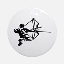 Archer Ornament (Round)