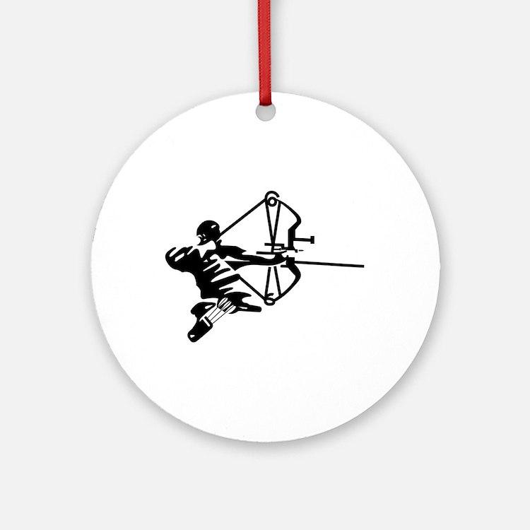 Archer Ornament (Round)