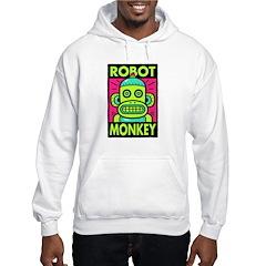 Retro Robot Monkey Hoodie