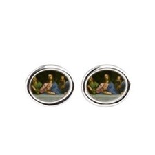 The Last Supper Oval Cufflinks